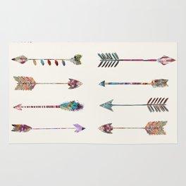 12 arrows Rug