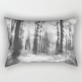 Lost in the woods - abstract infrared photograph Rectangular Pillow
