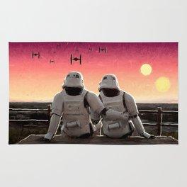 Stormtrooper Sunset Rug