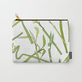Scattered Bamboos Carry-All Pouch