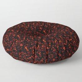 Dark Tortoiseshell Floor Pillow
