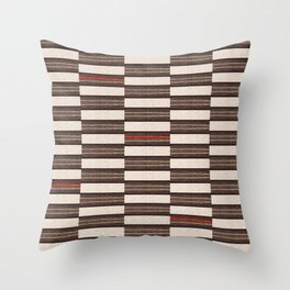 Flat Weavin 2 Throw Pillow