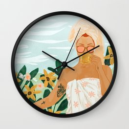 Earl Grey Wall Clock