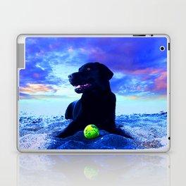 Ziggy Black Labrador Laptop & iPad Skin