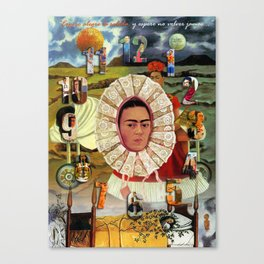 RELOJ Canvas Print
