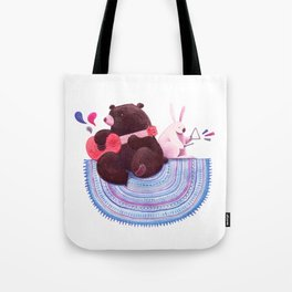 Bear & Bunny Tote Bag