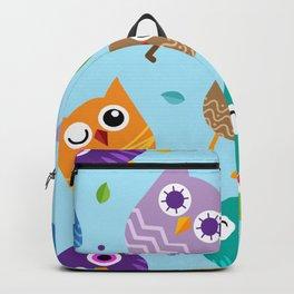 Owl Pattern Backpack