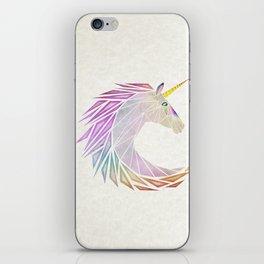 unicorn cercle iPhone Skin