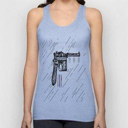 Gun  Unisex Tank Top