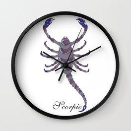 Starlight Scorpio Wall Clock