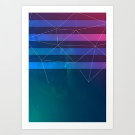 Space_W Art Print