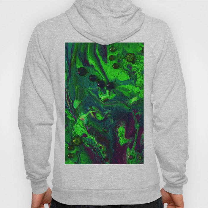 Green Plasma Hoody