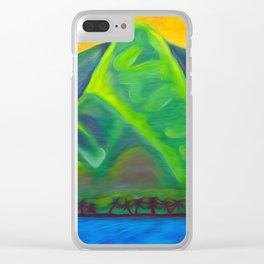 Mauka, Makai Clear iPhone Case