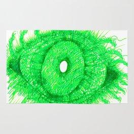 Green Eye Rug