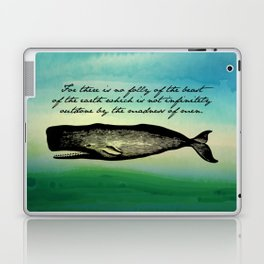 Moby Dick - The Madness of Men Laptop & iPad Skin
