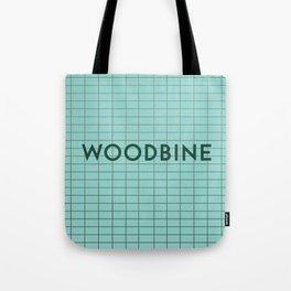 WOODBINE | Subway Station Tote Bag
