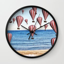 BETWEEN TWO WORLDS Wall Clock
