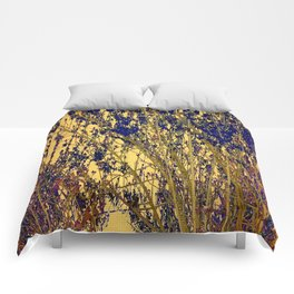 Nature Abstract - Art Comforters