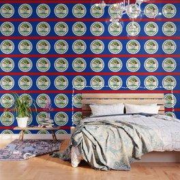 Fancy Flag: Belize Wallpaper