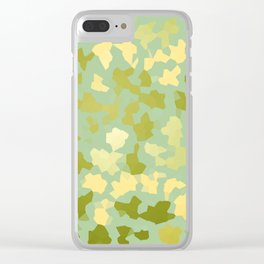 SAFARI GREEN Clear iPhone Case