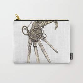 Scissorhands (Sepia-L) Carry-All Pouch