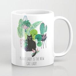 Plant lady is the new cat lady! Coffee Mug