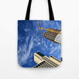 Deep Diving into the Berlin Blue Tote Bag