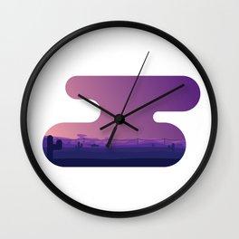 Radiator Springs Wall Clock