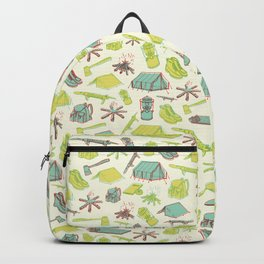 Retro Camping Backpack