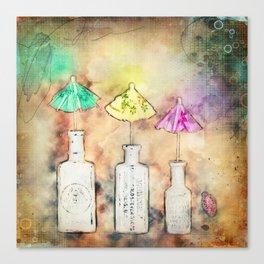 Creative Rain Canvas Print