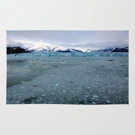 Alaska Hubbard Glacier Floating Blue Ice Rug