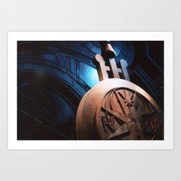 HP Studios - Clockwork Art Print