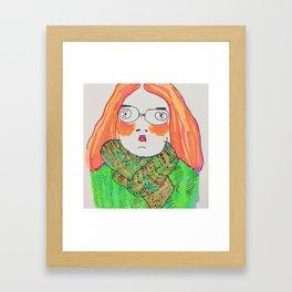 xd00d00x self portrait   :0 Framed Art Print