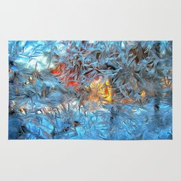 Frozen window Rug