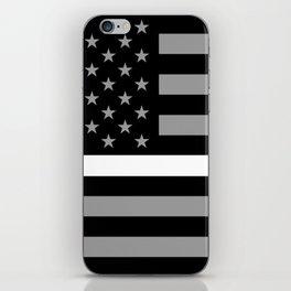 EMS: Black Flag & Thin White Line iPhone Skin