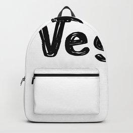 Vegetarian Men Women Kids Backpack