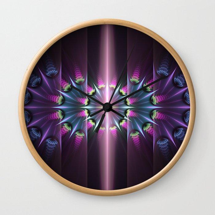 Sparklaboria Wall Clock