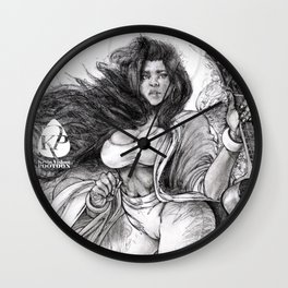 'Cecilia, The Patroness of Music' (2018) Wall Clock