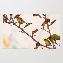 Two Little Birds Rug