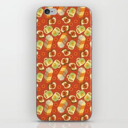Coffee and Toast (Tomato Sauce Red) iPhone Skin