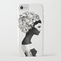 fish iPhone & iPod Cases featuring Marianna by Ruben Ireland