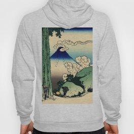 "Hokusai (1760–1849) ""Mishima Pass in Kai Province"" Hoody"