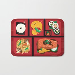 Sushi Bento Box Bath Mat