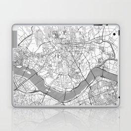 Seoul Map Line Laptop & iPad Skin