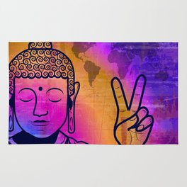 Buddha World Peace Rug