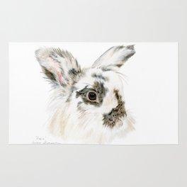 Pixie the Lionhead Rabbit by Teresa Thompson Rug