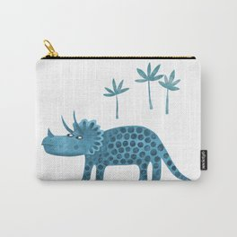Triceratops Dinosaur Carry-All Pouch