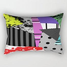 Pick A pattern II - geometric, textured, colourful, splatter, stripes, marble, polka dot, grid Rectangular Pillow