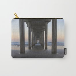 Scripps Pier at Sunrise (Digital) Carry-All Pouch