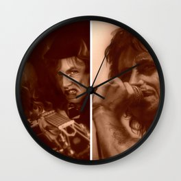 'AC/DC Mosaic I' Wall Clock